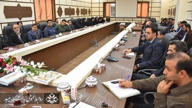 تصویر از برگزاری نشست بصیرتی در دانشگاه میبد
