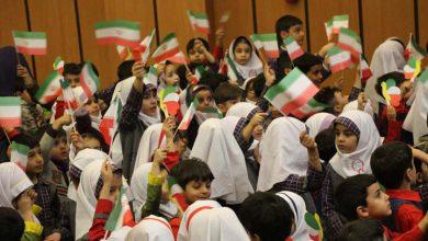 تصویر از نونهالان میبدی سالگرد پیروزی انقلاب اسلامی را گرامی داشتند
