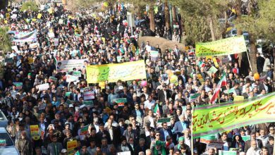 تصویر از حضور پر شکوه مردم میبد در راهپیمایی ۲۲ بهمن/تصاویر بخش دوم
