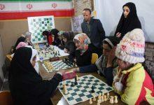 تصویر از مسابقات شطرنج استانی جام دهه فجر در میبد برگزار شد