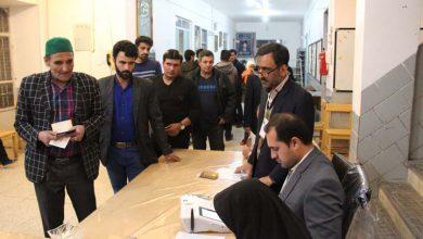 تصویر از حضور پر شور مردم میبد در انتخابات مجلس شورای اسلامی