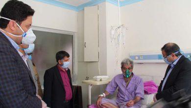 بازدید از بیمارستان میبد و بررسی مسائل حوزه درمان میبد