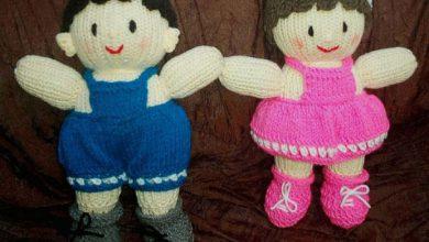 تصویر از تصاویری از عروسکهای بافتنی