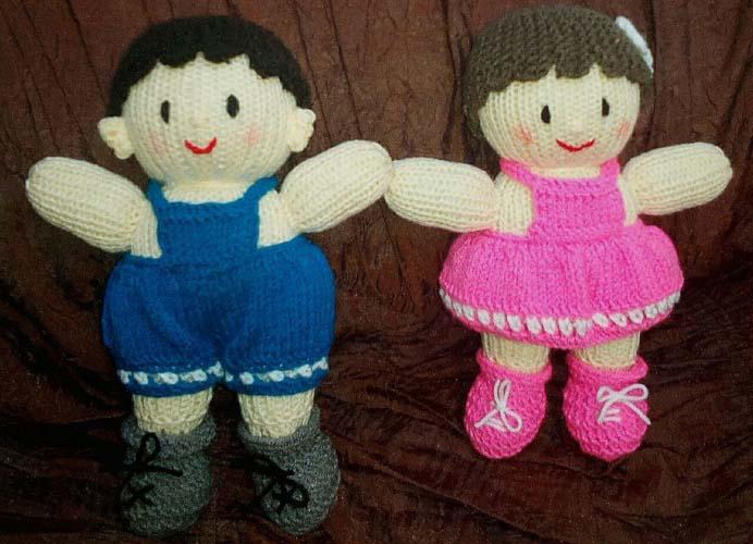 عروسکهای بافتنی