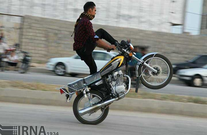 تصادفات موتور سیکلت