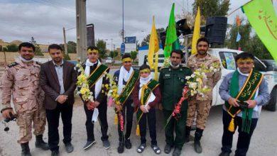 Photo of ۳ هزار بسته فرهنگی در میبد توزیع شد/تصاویری از اجرای خیابانی سرود و برنامه « یک قدم برای امام زمان (عج)»