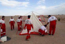 تصویر از تیمهای تخصصی امداد ونجات جمعیت هلال احمرمیبد فراخوان شدند