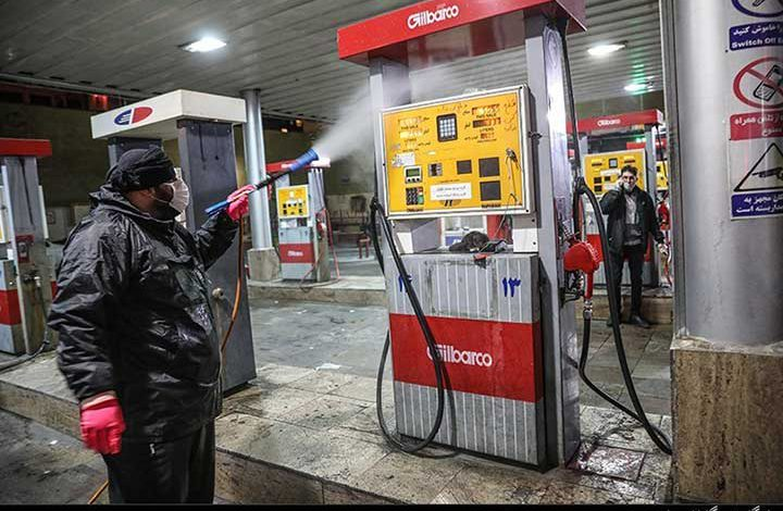 خطر انتقال ویروس کرونا در پمپ بنزینها