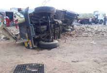 Photo of امدادرسانی به حادثهدیدگان تصادف در محور کمربندی غربی میبد