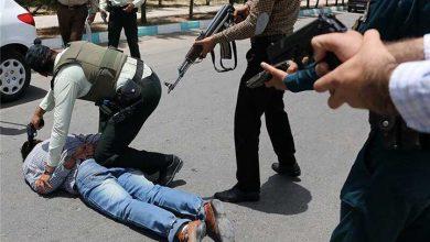 تصویر از یک سارق در درگیری با پلیس یزد کشته شد