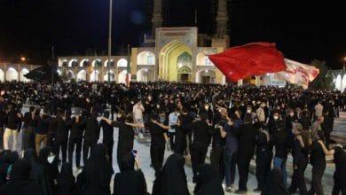تصویر از مراسم سنتی «شاه حسن شاه حسین » میبد در شب عاشورا