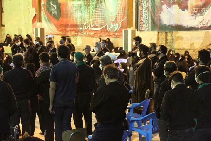 مراسم سنتی «شاه حسن شاه حسین» در شب عاشورا