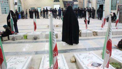 تصویر از مراسم شام غریبان حسینی در میبد