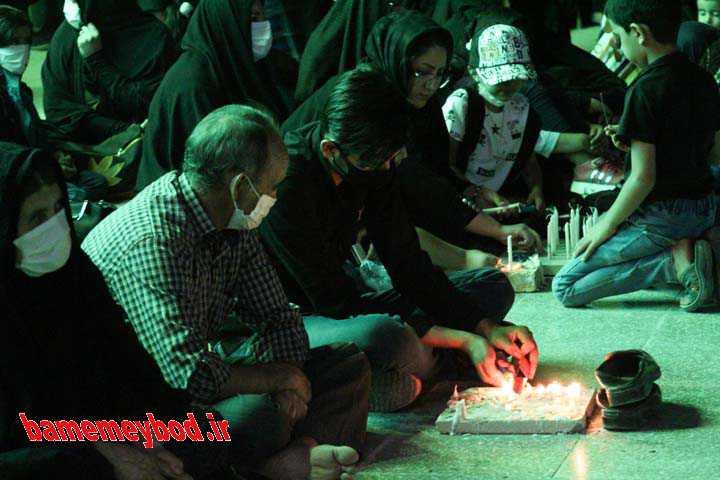 شام غریبان حسینی در میبد