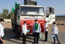 تصویر از مشارکت نیروهای بسیجی میبد در اجرای برنامههای گرامیداشت عید غدیر