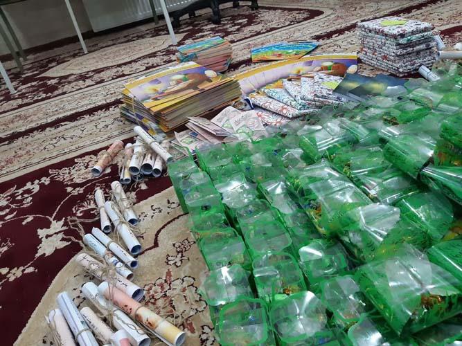 مشارکت نیروهای بسیجی در برگزاری برنامه گرامیداشت عید غدیر