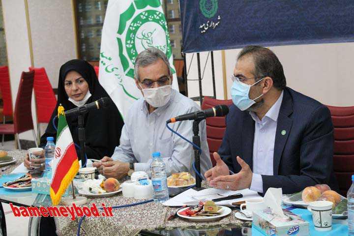نشست خبری شورای شهر و شهرداری میبد
