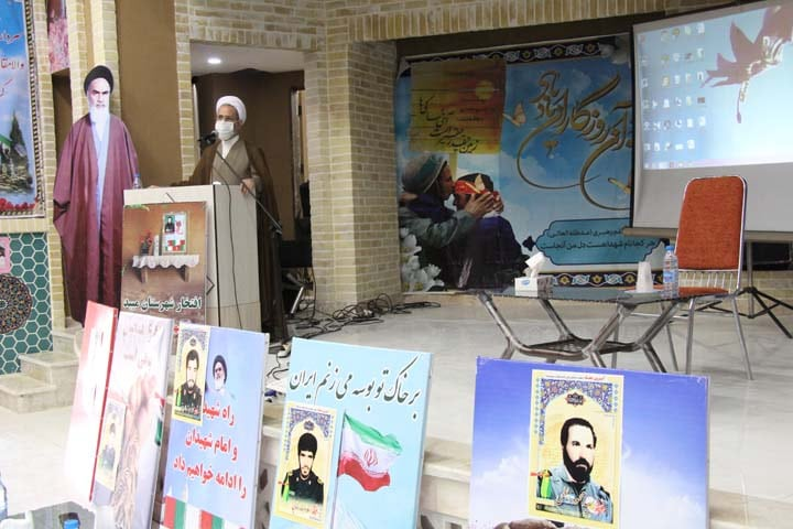 افتتاح سالن شهدای بسیج میبد