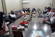 تصویر از مربیان فعال جمعیت هلال احمر میبد تجلیل شدند