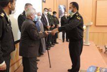 تصویر از مراسم تودیع و معارفه فرمانده انتظامی میبد برگزار شد