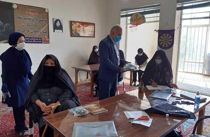 بازدید از مرکز روزانه توانبخشی سالمندان حبیب ابن مظاهر میبد