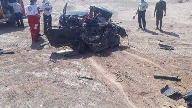 حادثه تصادف در جاده کمربند غربی میبد