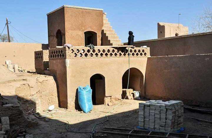 مرمت حمام تاریخی میبد