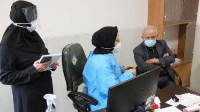 بررسی وضعیت خدمت رسانی به بیماران کرونا در میبد