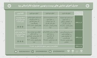 جشنواره تئاتر استان یزد