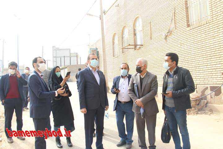 پروژه های عمرانی شهرداری میبد