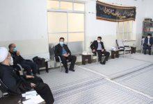 نشست مسوولان شبکه بهداشت و درمان و بیمارستان با امام جمعه میبد
