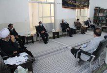 نشست مسوولان راه و شهرسازی با امام جمعه میبد